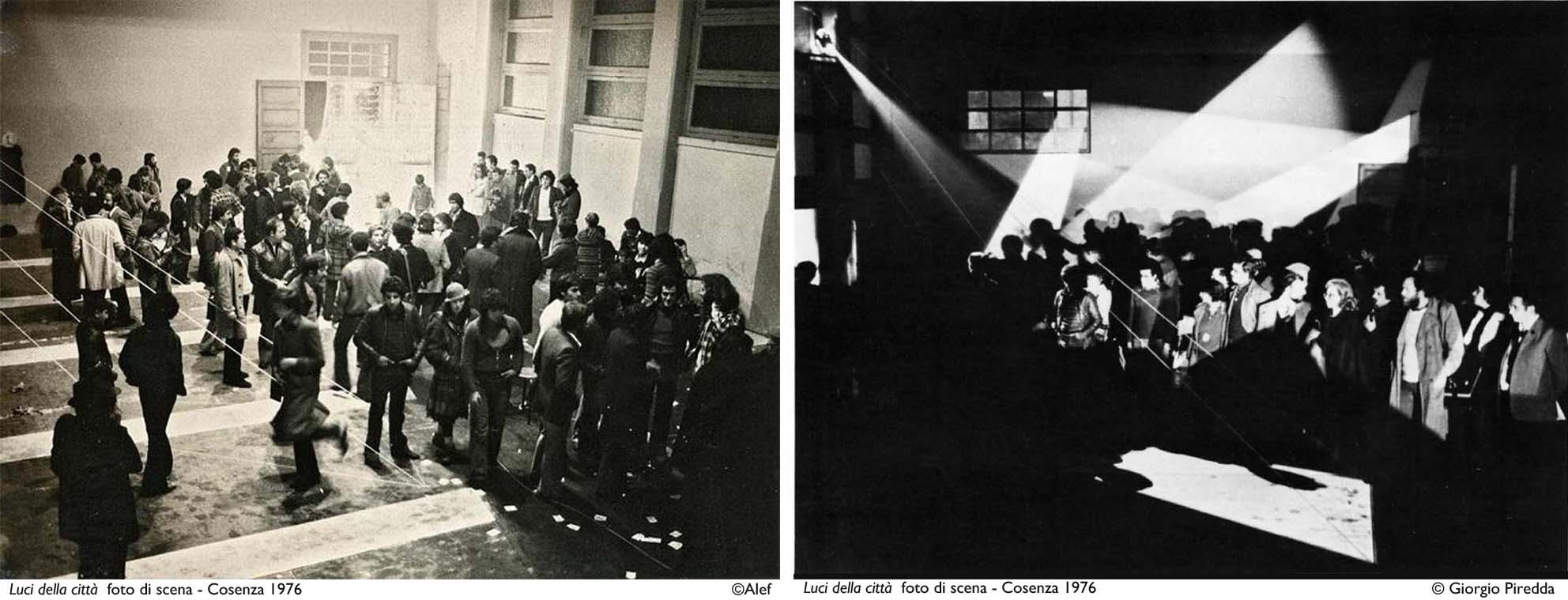 Luci della città 1976_foto di scena