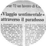 Paese Sera - F. Cordelli