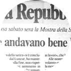 La Repubblica - O. Cosulich