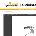 Studi germanici p.103-107 - V.Valentini