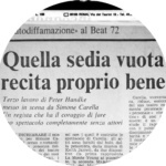 Paese Sera - Franco Cordelli